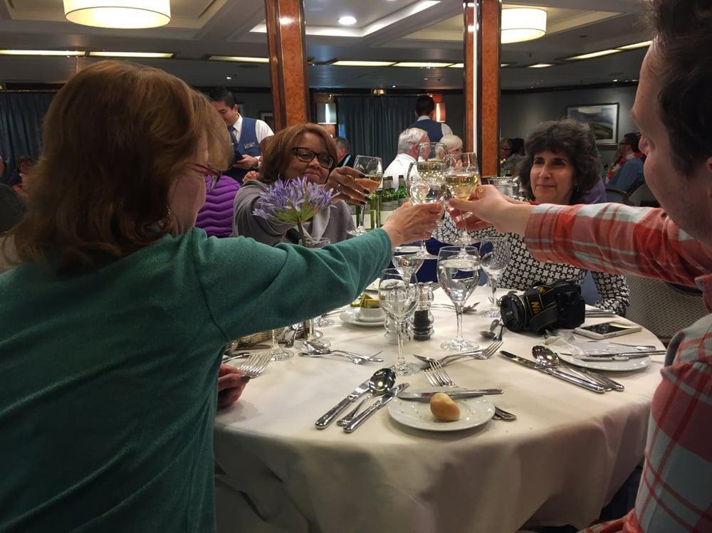 Delicious meals, convivial atmosphere