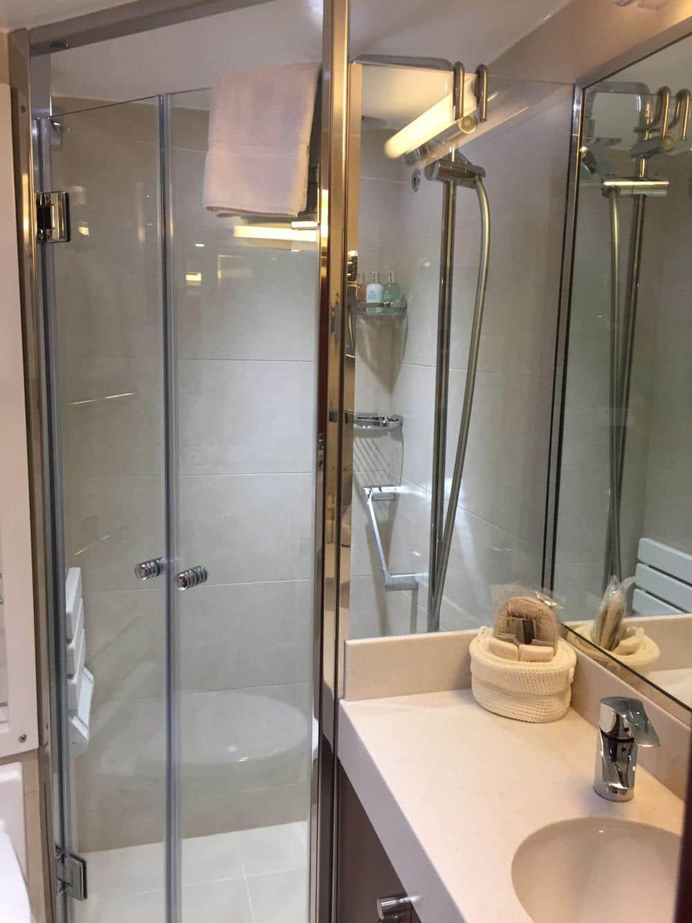 Luxury in the en suite bathroom