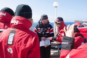 Wildlife sightings, Drake Passage.