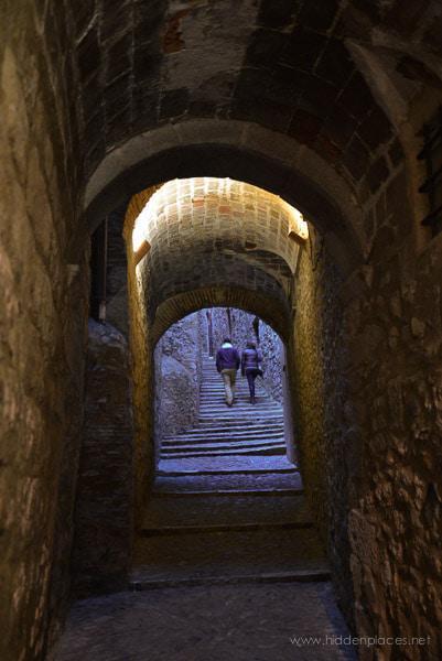 Medieval Passageway in Spain