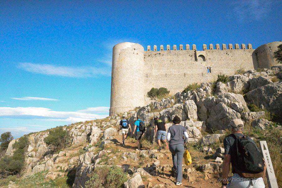 Medieval Castel in Spain