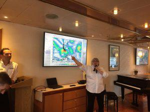 Drake Passage weather briefing.