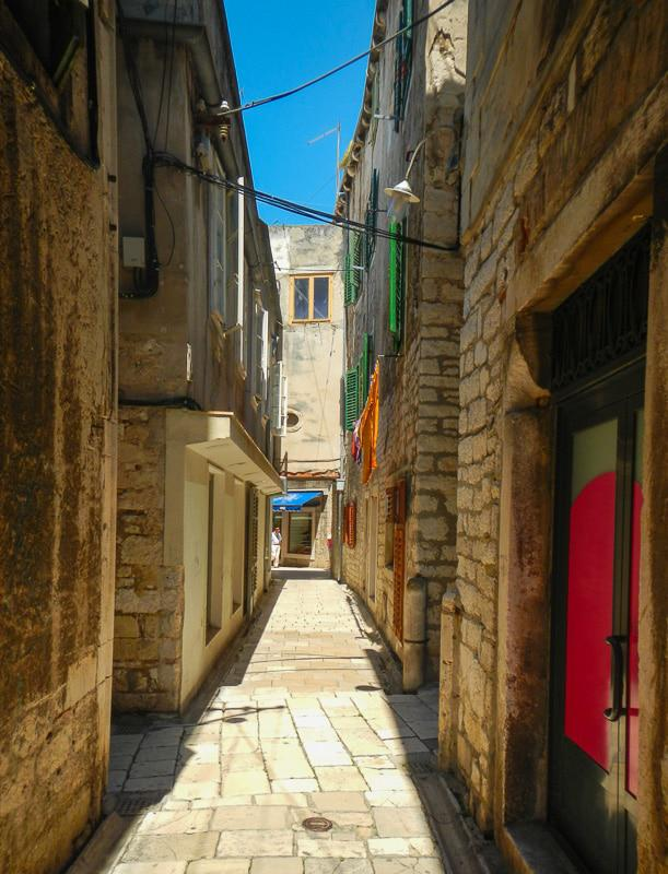 Street in Croatia