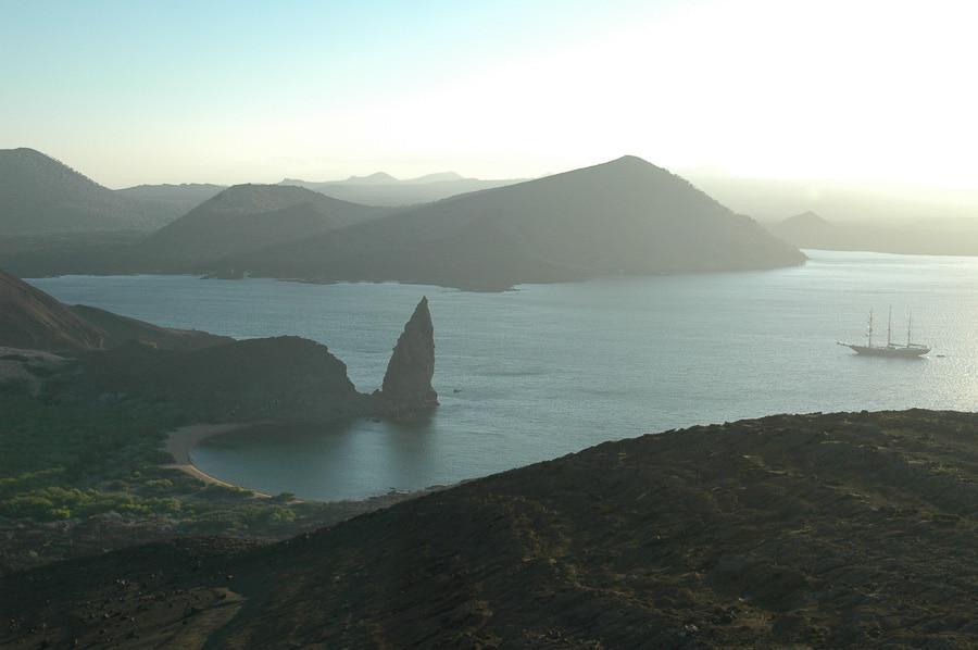 Coastal View in Galapagos