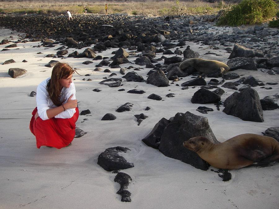Being Close to Wildlife in Galapagos