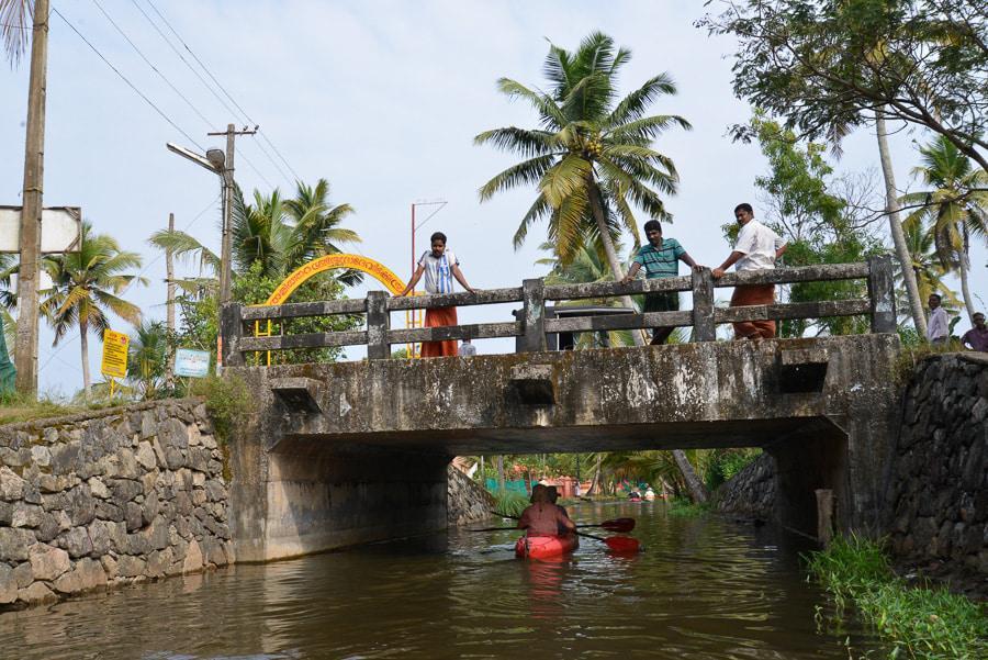 Kayaking in India Trip