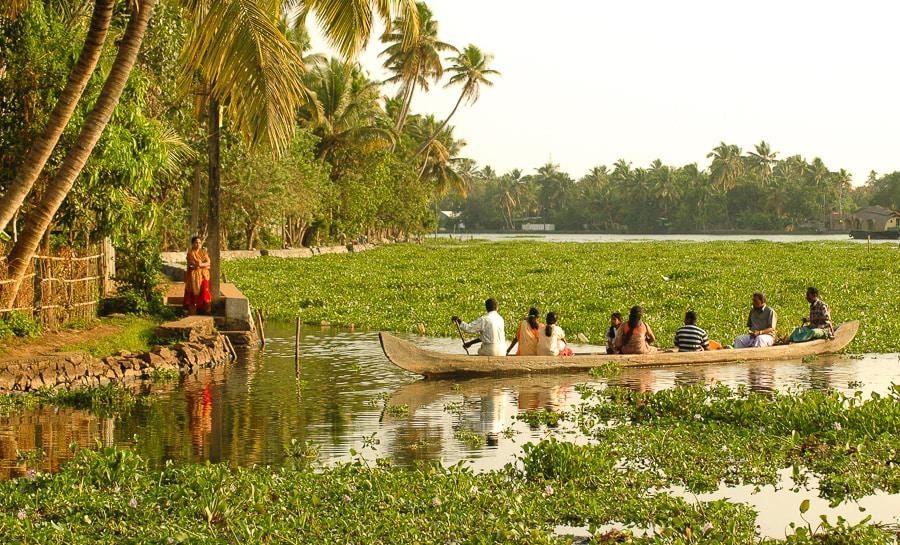Kayaking Location in India