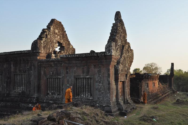 Buddhist Monk in Buddhist Temple