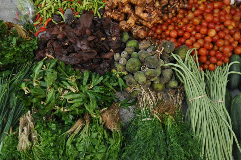 Photo of Fresh Vegetables in Laos