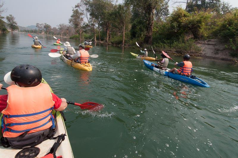 Kayaking Adventure in Laos