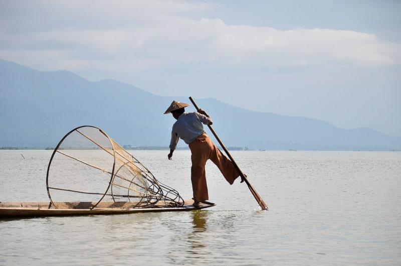 Fishing in Myanmar