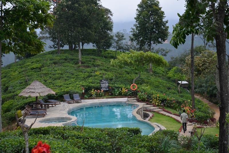 Amazing Landscape With Pool in Sri Lanka