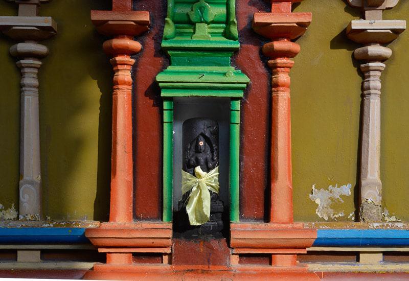 Colorful Temple in Sri Lanka