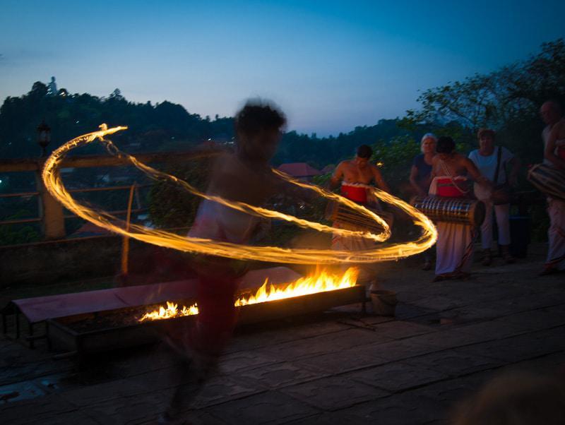 Fire Dancing in Sri Lanka