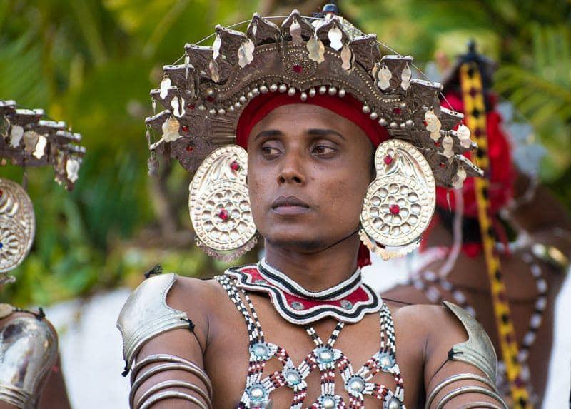 Native Costume of Sri Lanka
