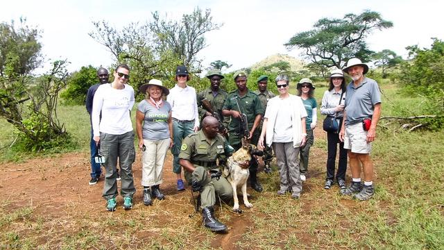 Participants of 100 Miles for Elephants