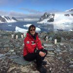 Maria in Antarctica